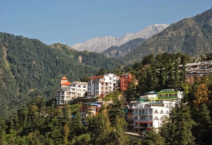 Hill Station of McLeod Ganj Himalayas