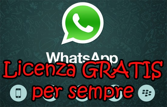 WhatsApp GRATIS per sempre - Guida