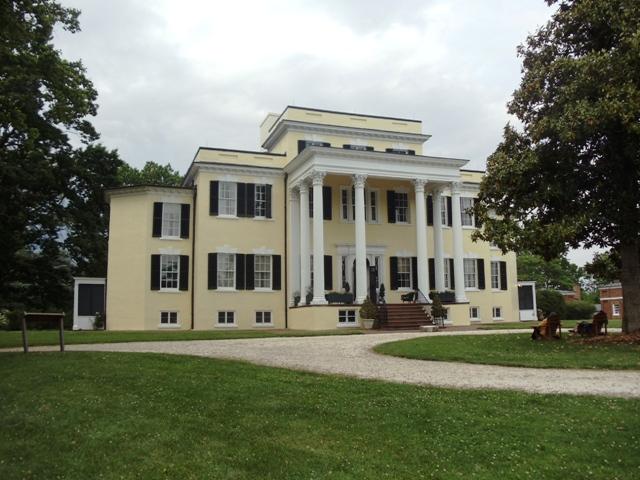 Mansion at Oatlands Plantation in Leesburg, Va.