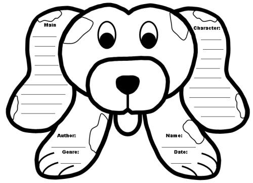 Grade school book report forms – Book Report Template Grade 2
