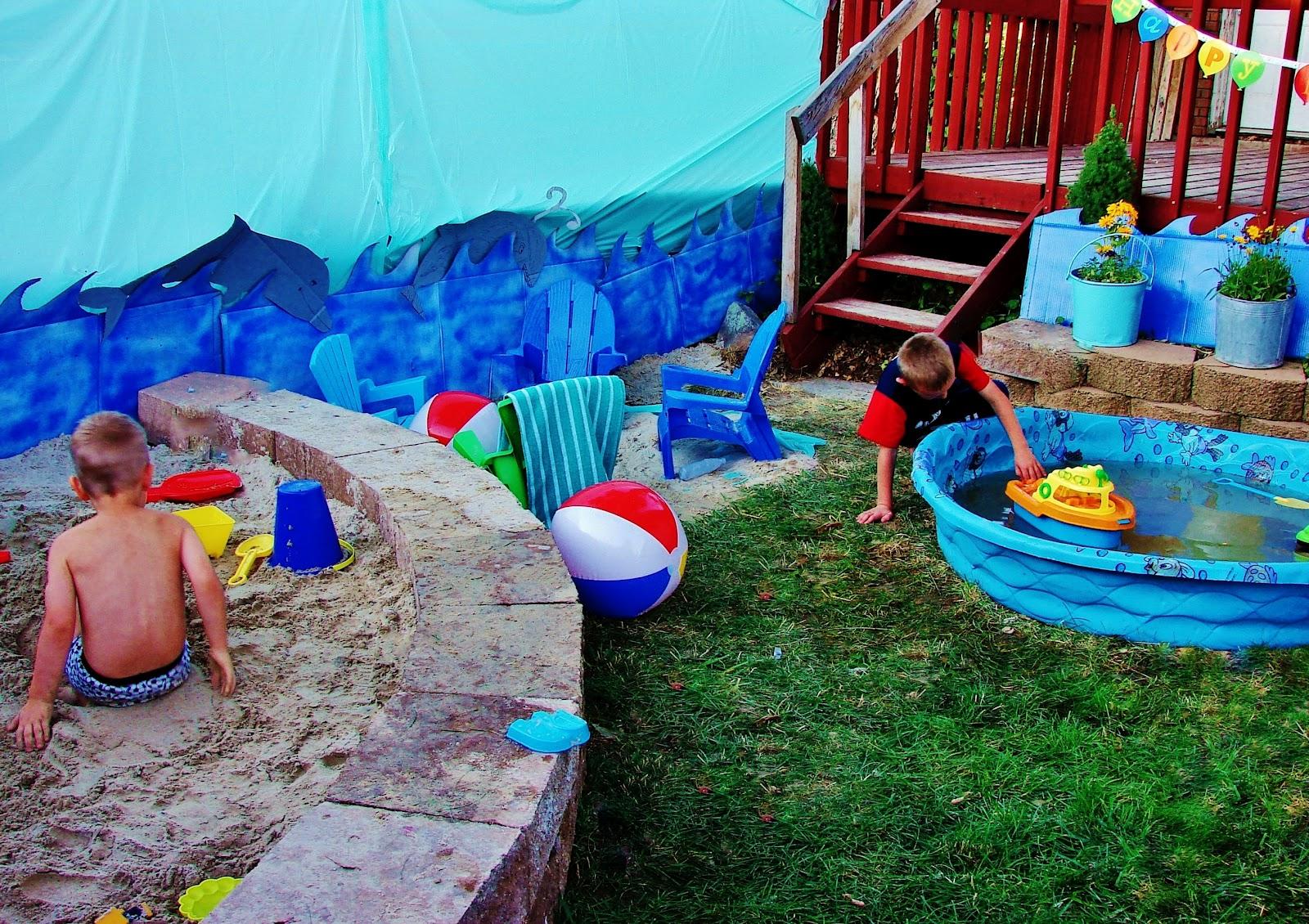 hearth  u0026 holm  picnic at the  u0026quot beach u0026quot  birthday party
