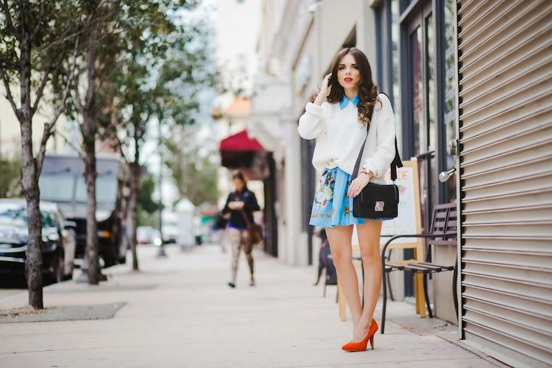 miami fashion blogger, fashion blogger, nany's klozet, daniela ramirez, midi skirt, crop top, how to wear, fashion trends,