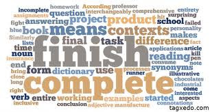 "COMPLETE""and FINISH"