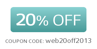 20% OFF on the website!