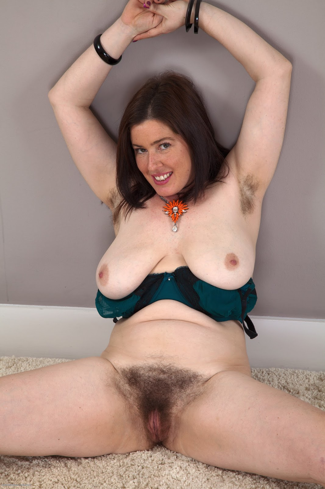 British brunette milf