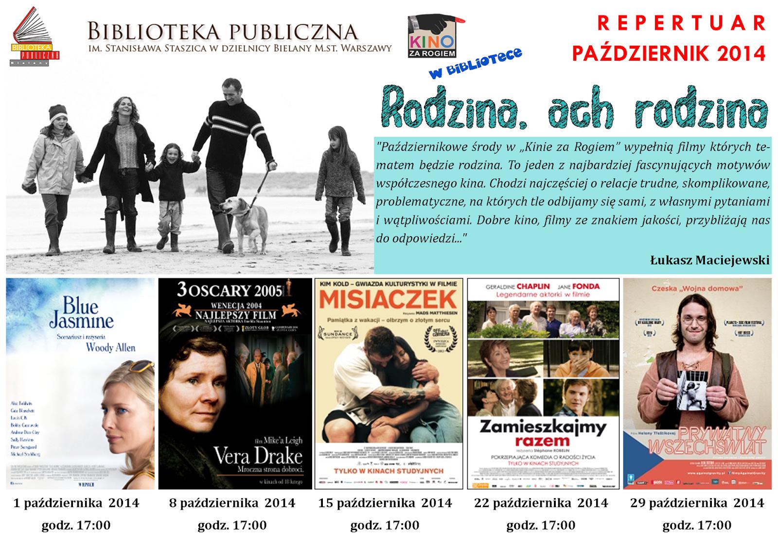 RODZINA, ACH RODZINA - repertuar na październik 2014
