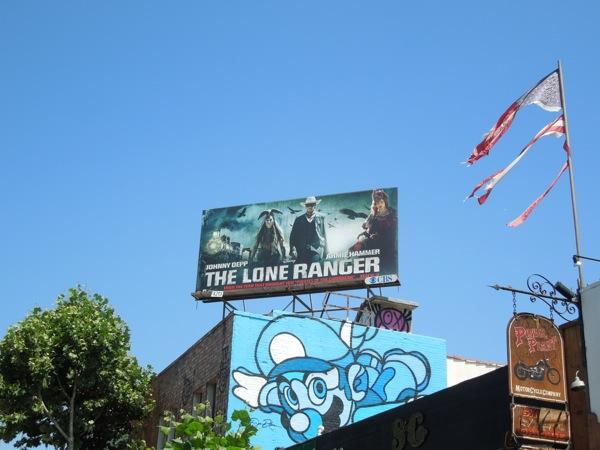 Lone Ranger billboard