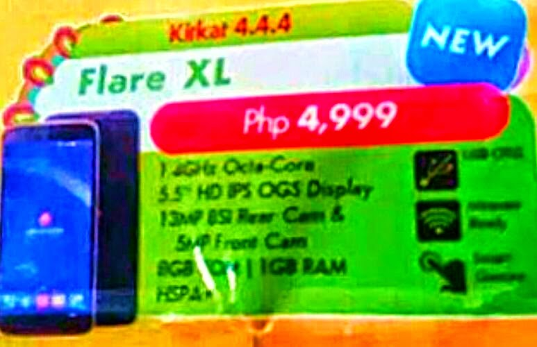 Cherry Mobile Flare XL, The Biggest Flare Ever for Php4,999