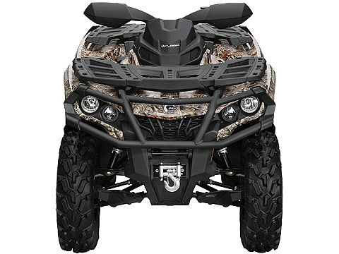 2013 Can-Am Outlander XT 500 ATV pictures. 480x360 pixels