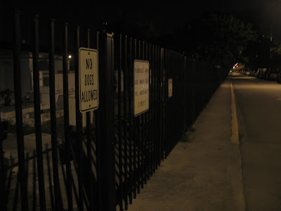 cemetery at night. For some the cemetery is a