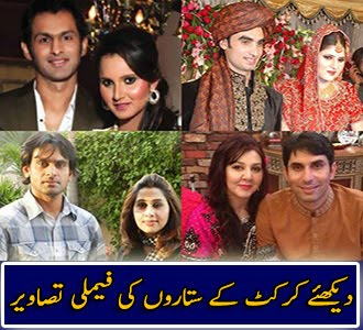 Cricketer Stars With Family