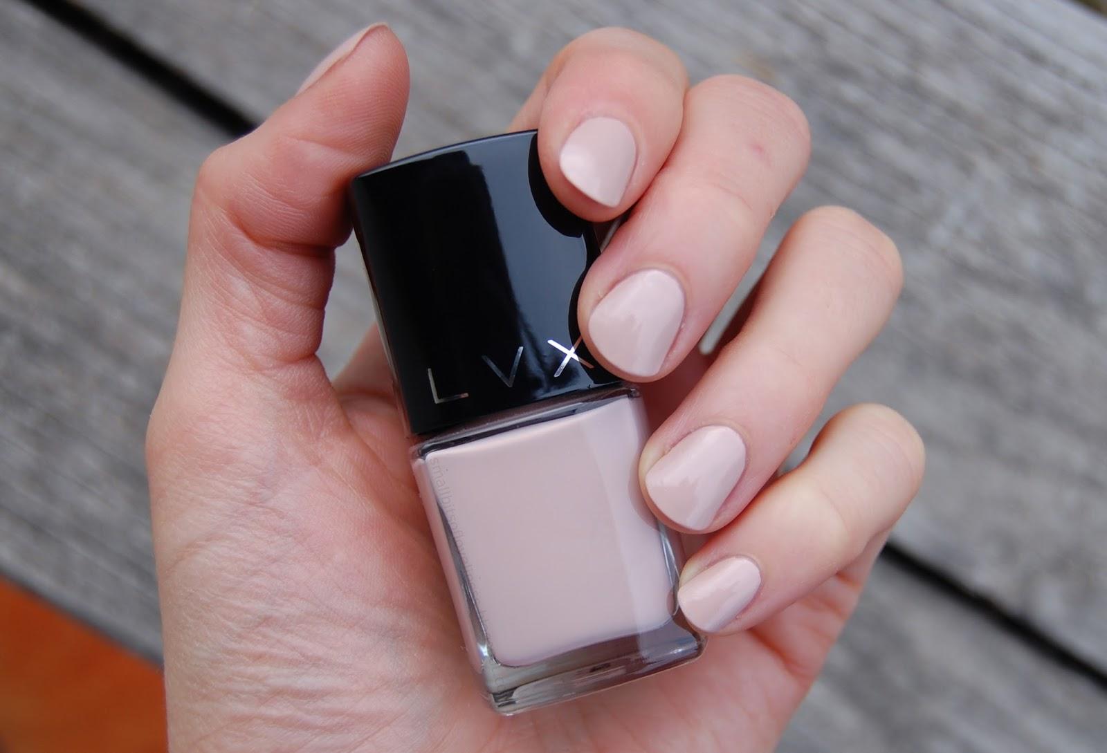 LVX Nail Polishes Nu & Rive | Small Bits of Loveliness