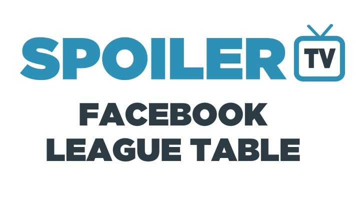 SpoilerTV Facebook Show League Table