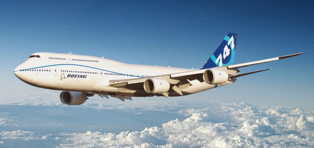 Pesawat Terbesar di Dunia ke-7 Boeing 747-8