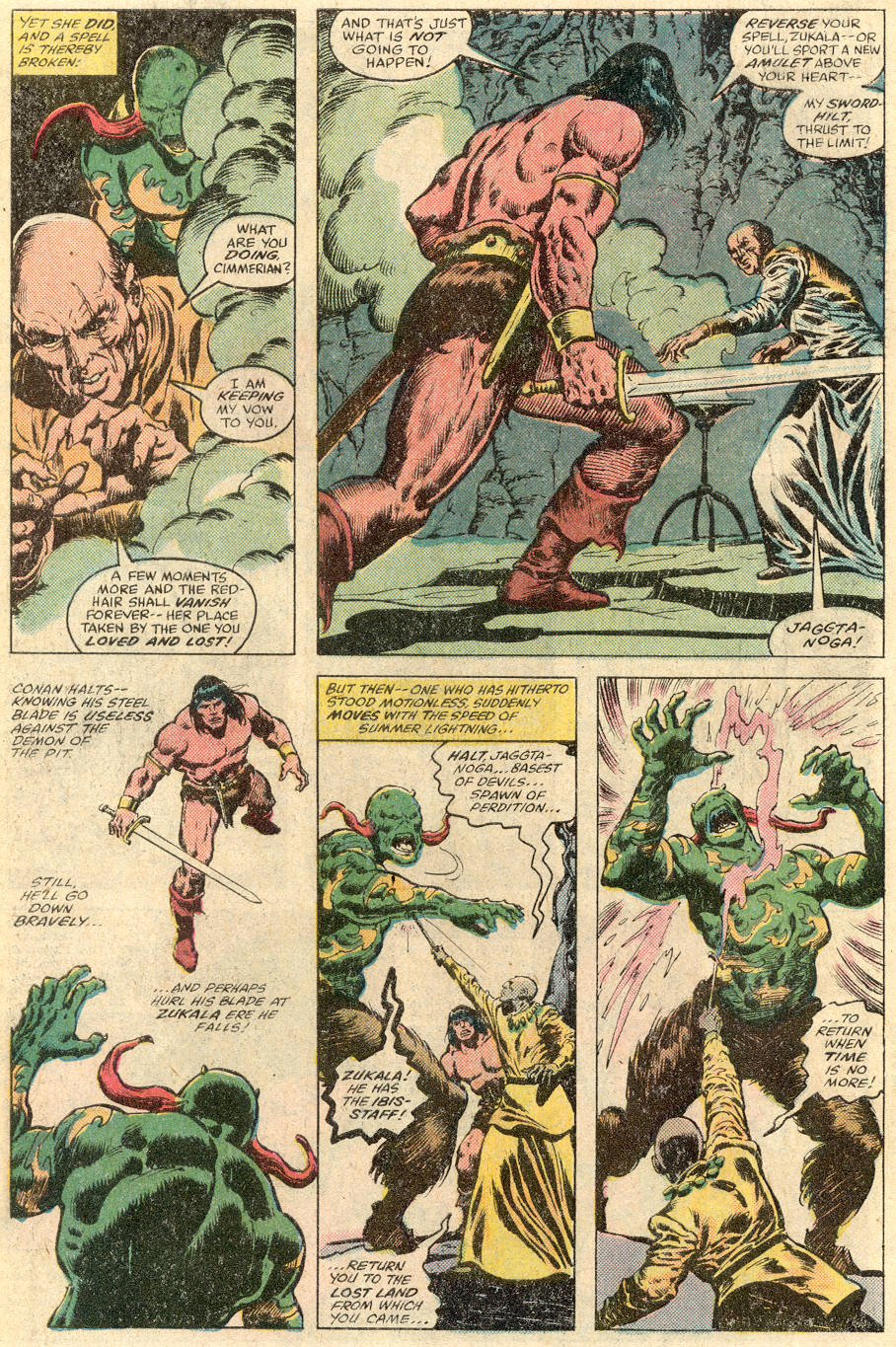 Conan the Barbarian (1970) Issue #115 #127 - English 25