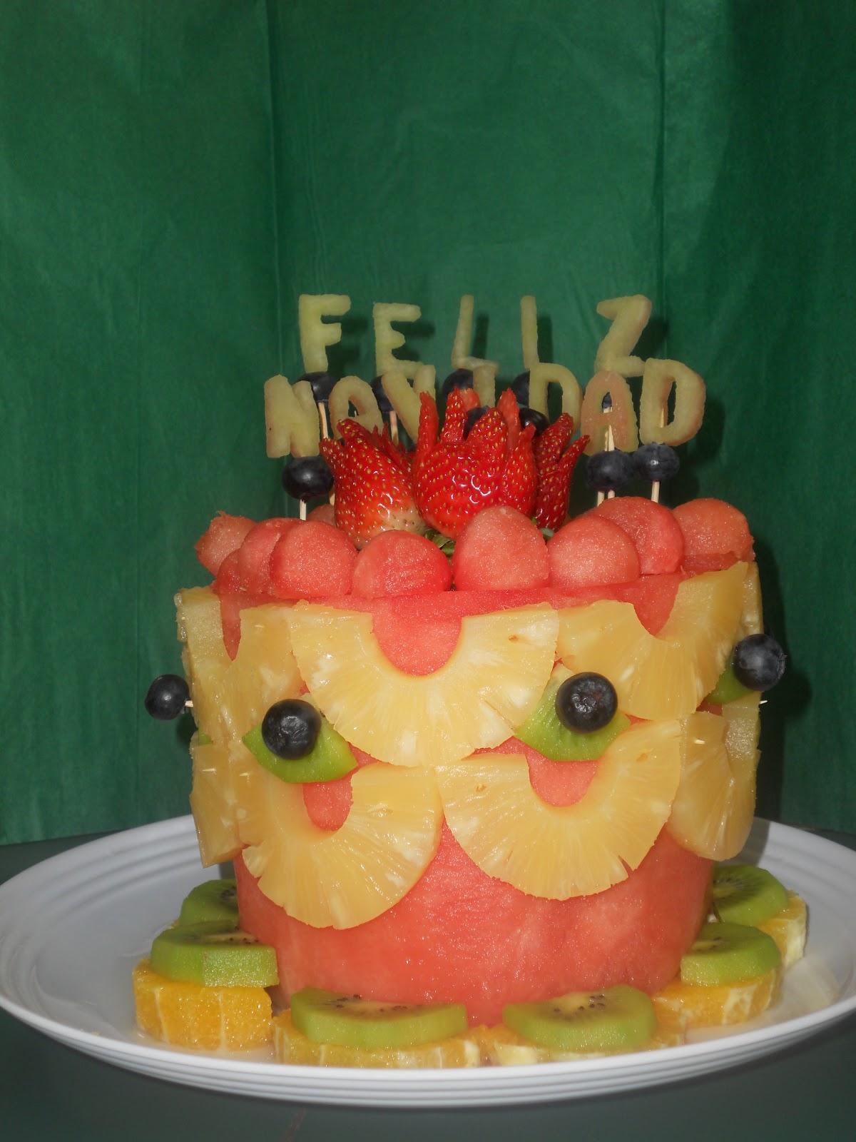 Arreglos Con Frutas Y Vegetales En Creatividades Latinas
