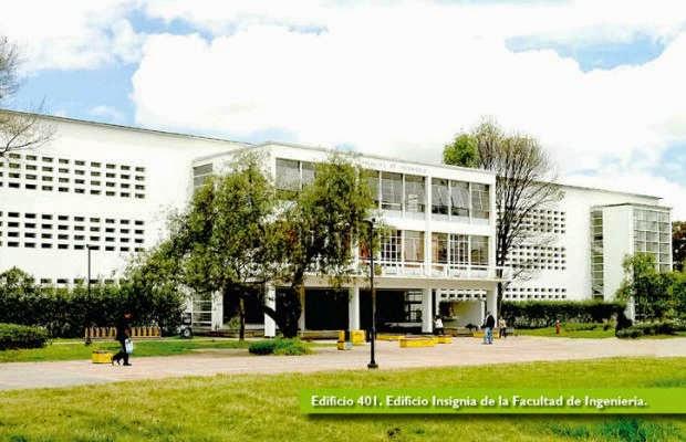Edificio Ingeniería Viejo 401 Campus UNAL Sede Bogotá
