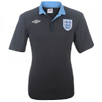 Euro 2012 England Away Jersey