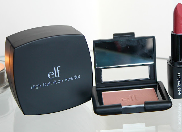 Elf Cosmetics, Elf Makeup, Elf Cosmetics Review, UK Beauty Blog, Elf HD Powder Review, Elf Candid Coral Blush Review, Elf Mineral Lipsticks Review, Makeup Reviews
