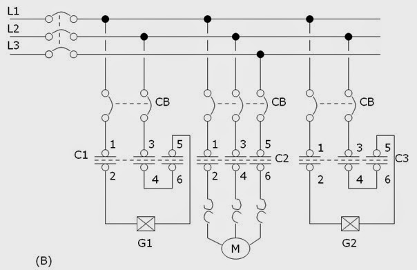 periodic sequence motor operation and circuits