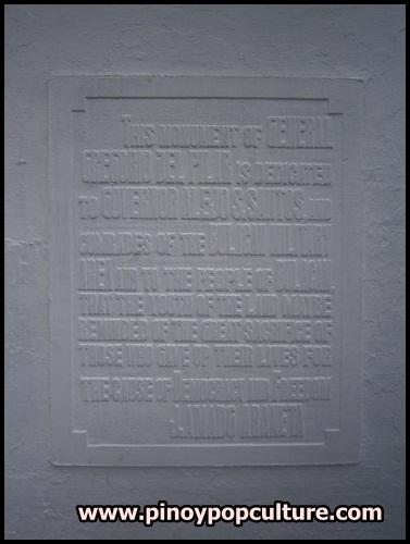 Bulacan Provincial Capitol, plaza, monuments, Gregorio Del Pilar, marker