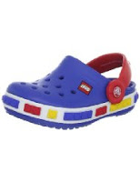 blue red yellow kids crocs