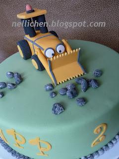 Nellichen Und Die Tortchen Bagger Torte Zum 2 Geburtstag