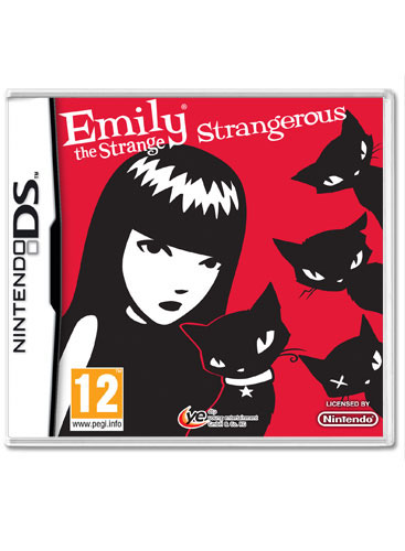 Meet Emily the Strange, a black-cat loving, thirteen-year-old girl who ...