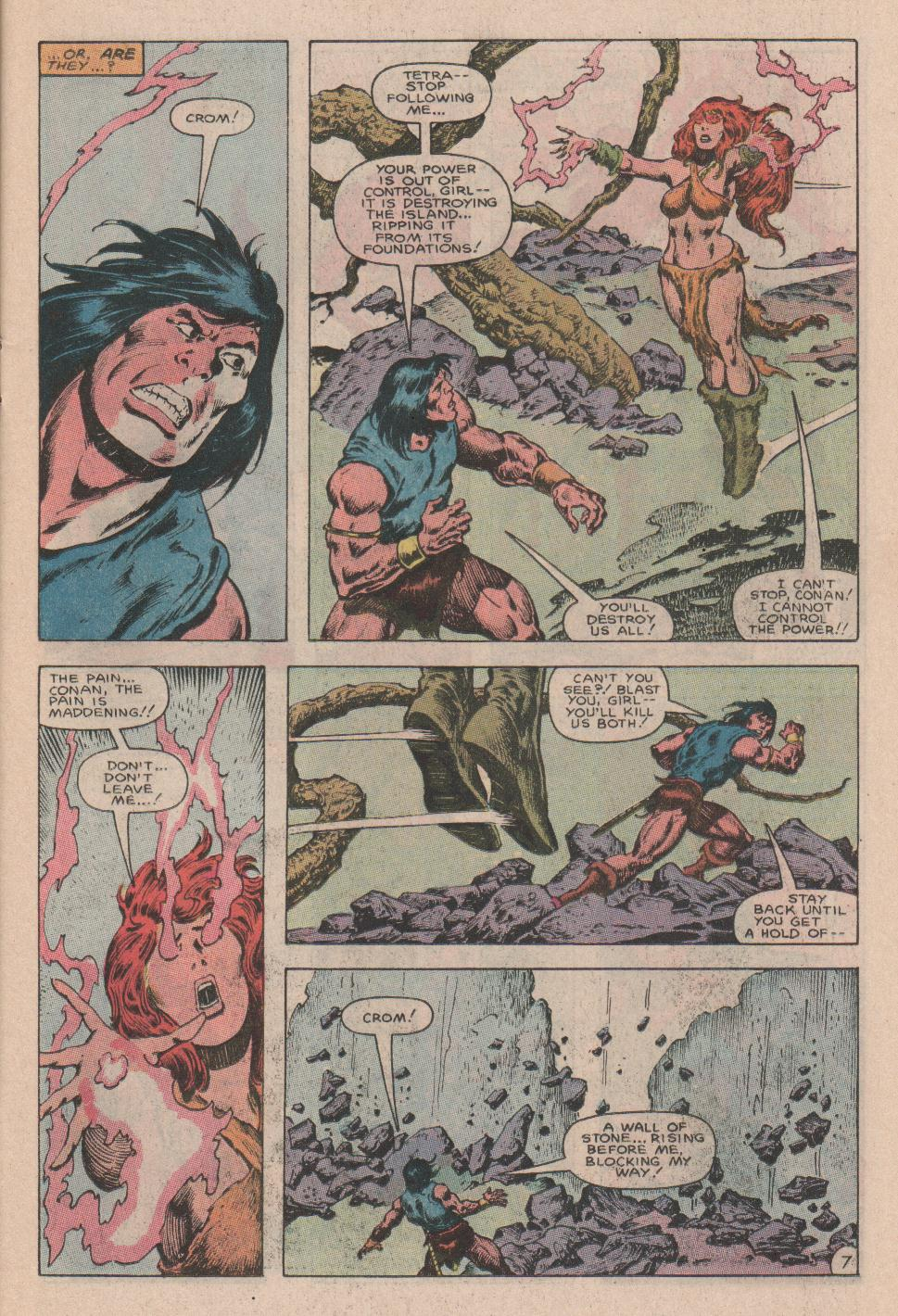 Conan the Barbarian (1970) Issue #178 #190 - English 8