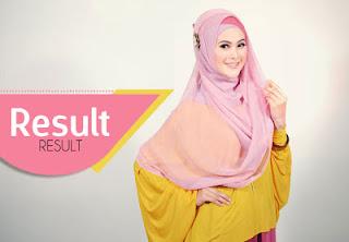 Cara memasang Hijab Segi Empat lengkap dengan gambar dan foto