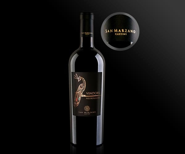 38 vindoro wine label designed by kiran six