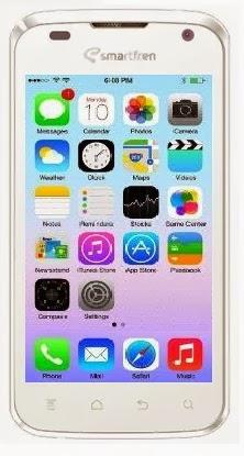 Smartfren Andromax i Windows Phone 8 Style Custom ROM