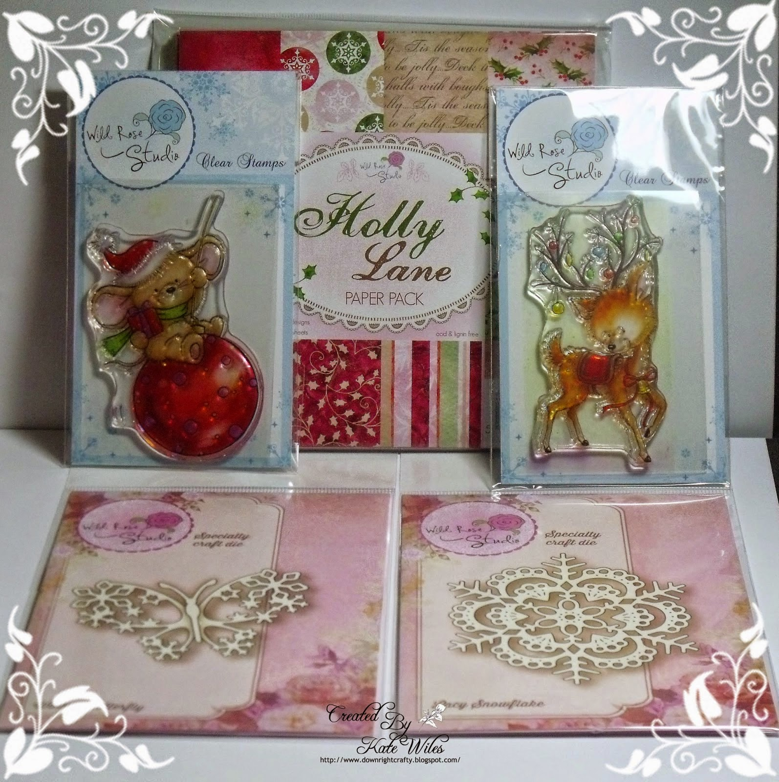 Wild Rose Studio Christmas Candy