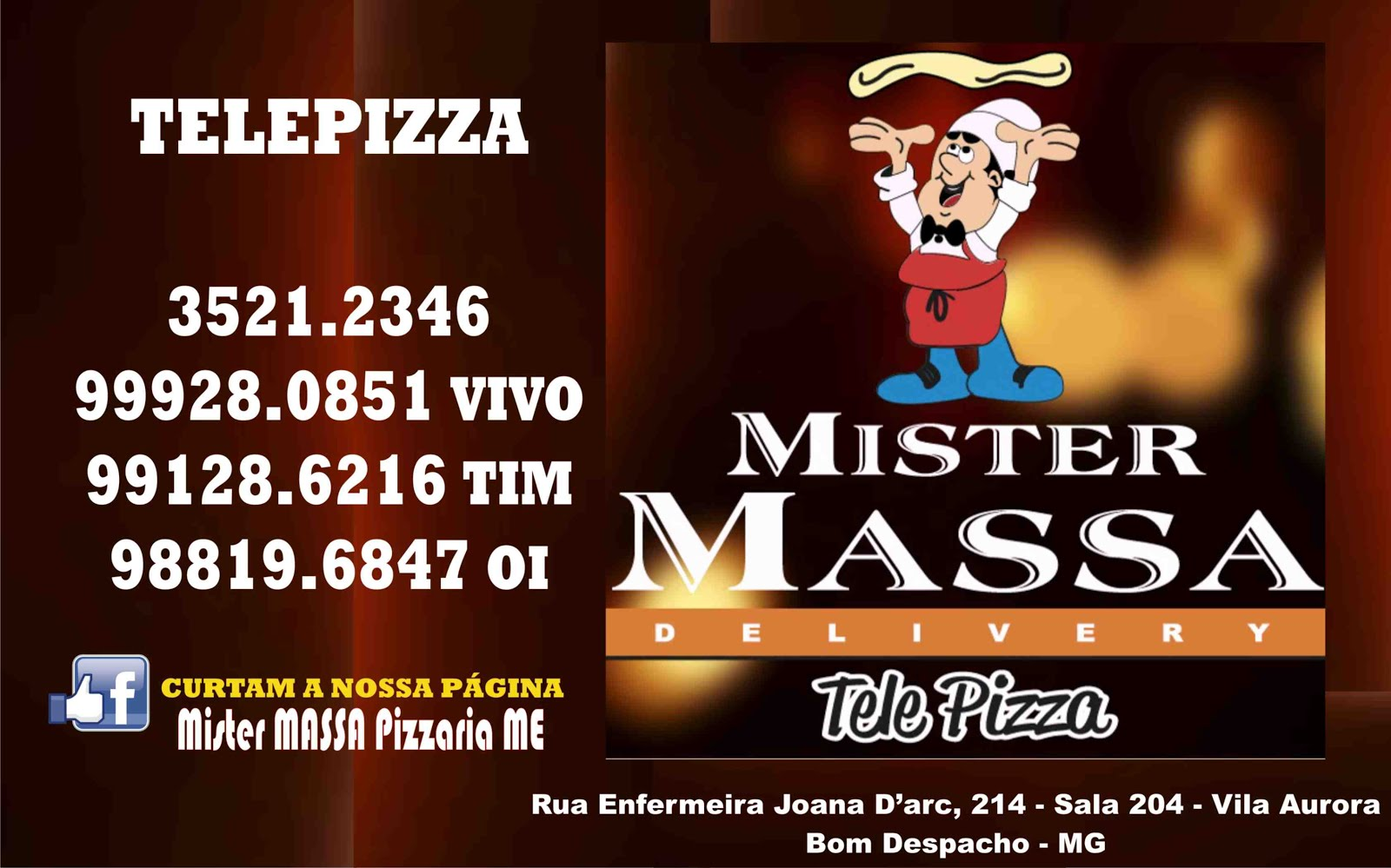 PIZZARIA MISTER MASSA