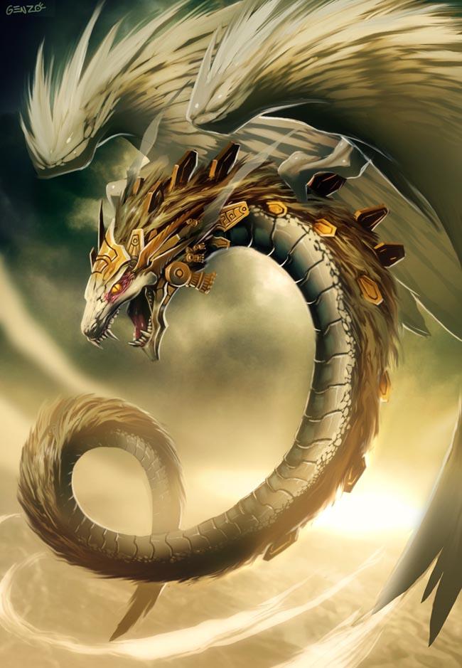 Dragones Mitológicos, legendarios y Poderosos!