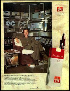 propaganda cigarros Du Maurier anos 70; cigarros Souza Cruz década de 70; propaganda antiga; propaganda cigarros Du Maurier - 1977;propaganda anos 70; história decada de 70; reclame anos 70; propaganda cigarros anos 70; Brazil in the 70s; Oswaldo Hernandez;