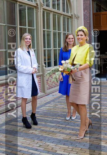 Queen Maxima visited the Amsterdam Micropia Museum