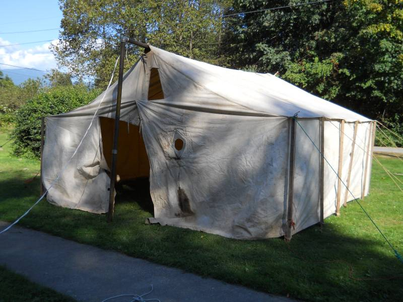 I am SO glad we replaced them - they are less than half the weight (plus then tent is much more functional now!) & 1936 Diamond T 221D: September 2012