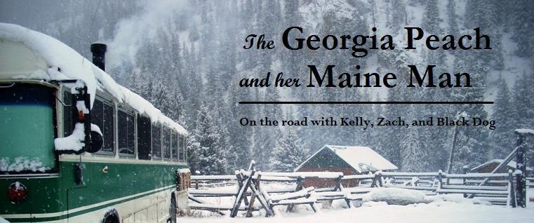 "<p align=""center"">The Georgia Peach and her Maine Man</p>"