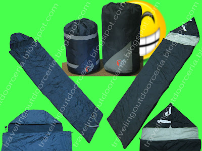 gambar sleeping bag dacron hollow fiberfill murah berkulitas overview