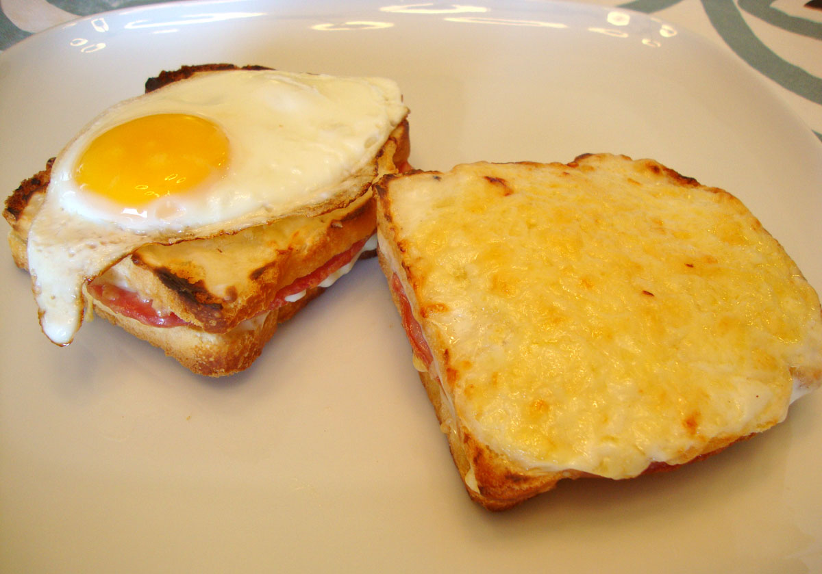 my back pages: croque monsieur and croque madame