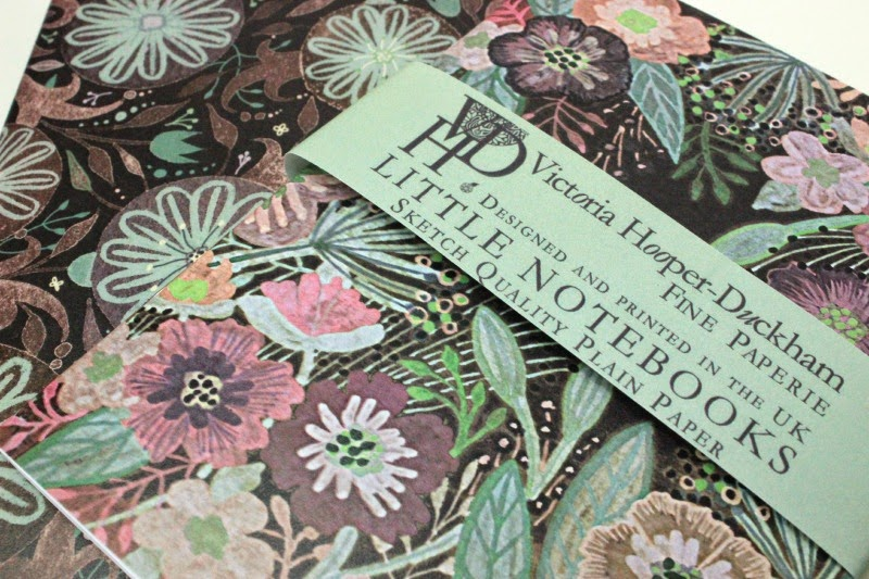 A set of two Victoria Hooper-Duckham Little Notebooks