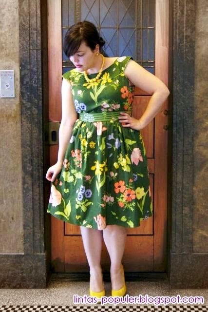model baju wanita gemuk 2013