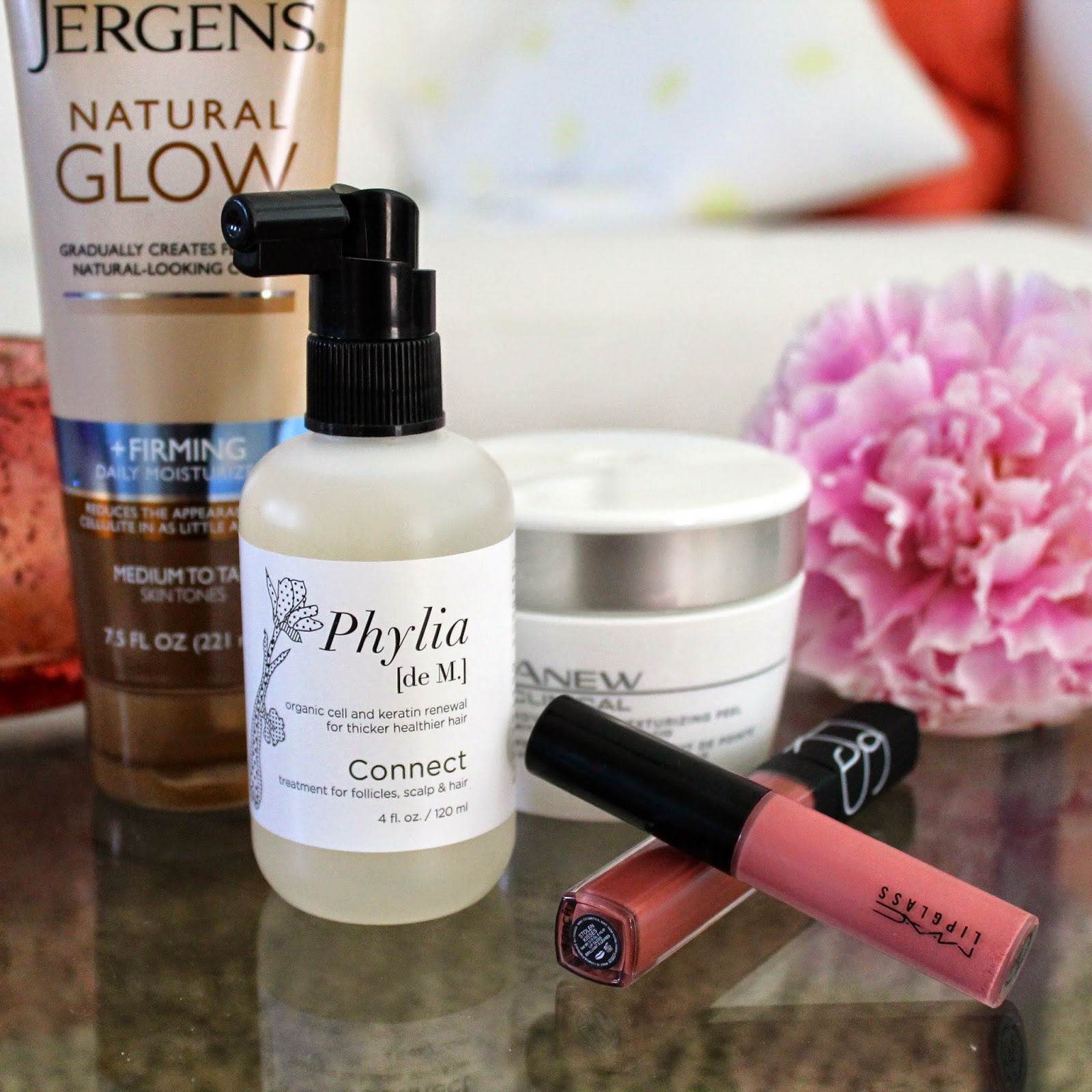 jergens avon mac beauty products