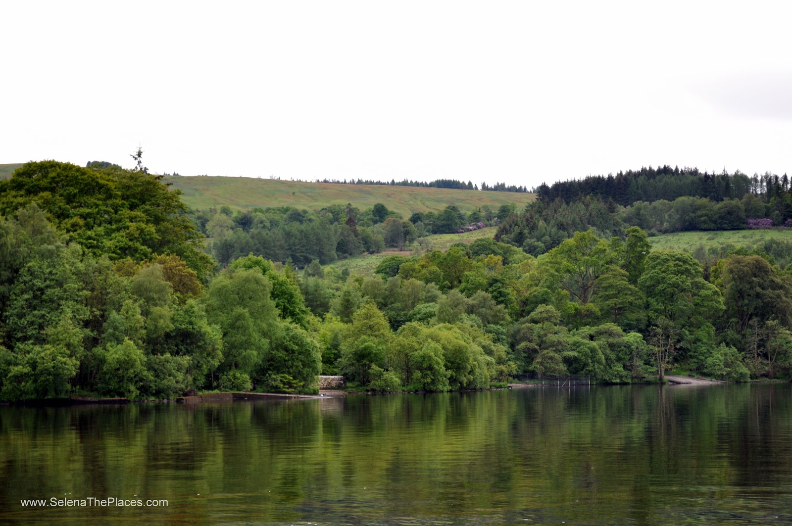 Loch Lomand an The Trossachs in Scotland