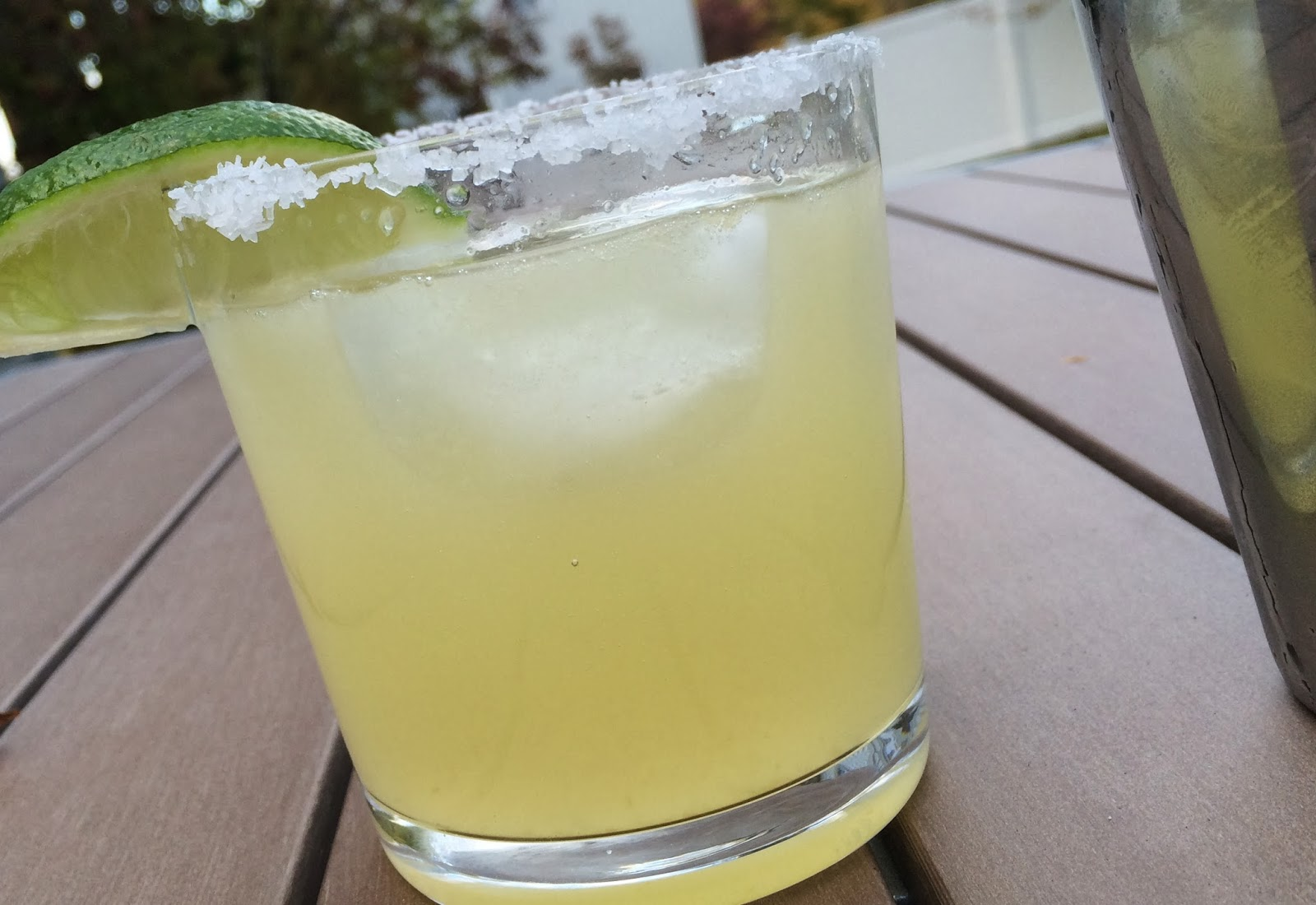Light Agave Margarita from Top Ate on Your Plate