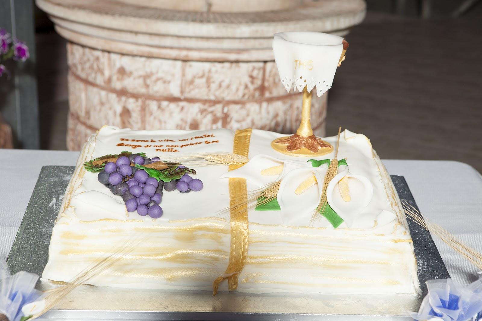 Le torte di lory torta prima comunione for Decorazione torte prima comunione