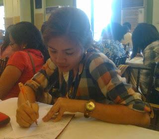 Fellow participant - Ailyn de la Torre