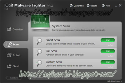 Free Download IObit Malware Fighter Pro 1.7.0.0 Full