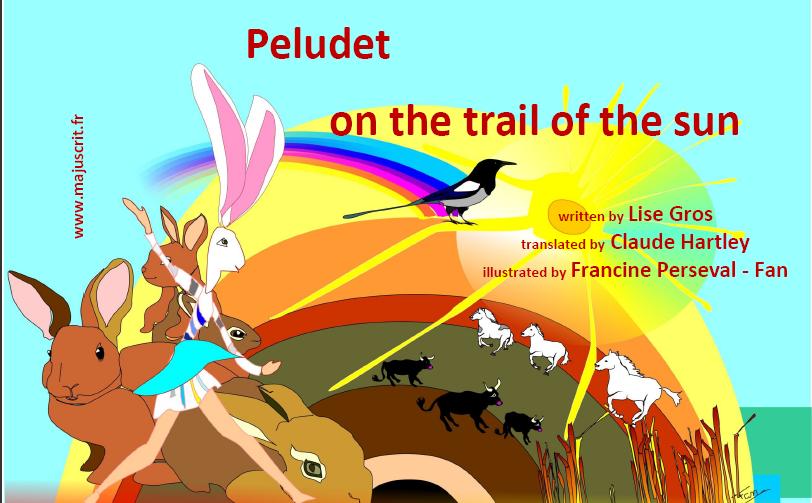 Encore plus d''albums en anglais sur www.majuscrit.fr Premi%C3%A8re+couvertureb+Peludet+on+the+trail+of+the+sun